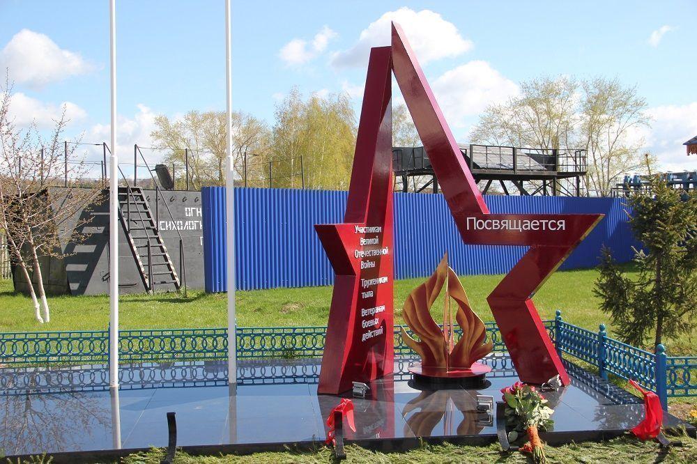 Памятник ветеранам Великой Отечественной войны установили в гарнизоне пожарной охраны Зеленодольска