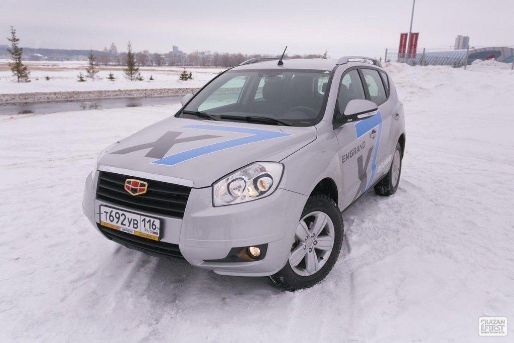 Казанская премьера доступного кроссовера Geely Emgrand X7