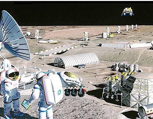 Россия разработала программу колонизации Луны - СМИ