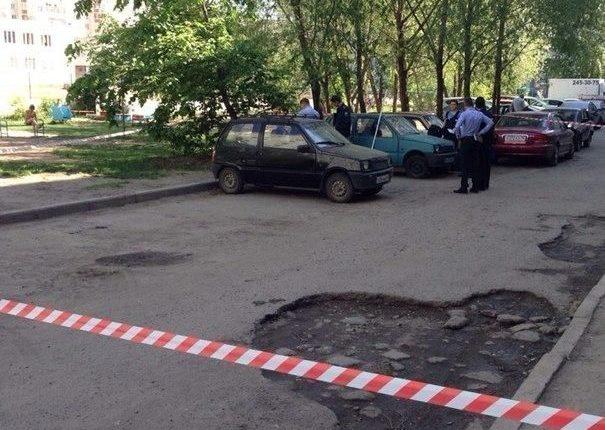 В Казани в результате перестрелки на квартале ранен человек