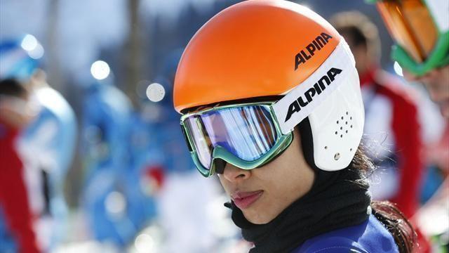 Ванесса Мэй стартует сегодня в гигантском слаломе на Олимпиаде под 87-м номером