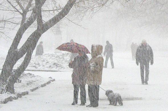 В понедельник татарстанцев ожидает сильный ветер, метель и гололед
