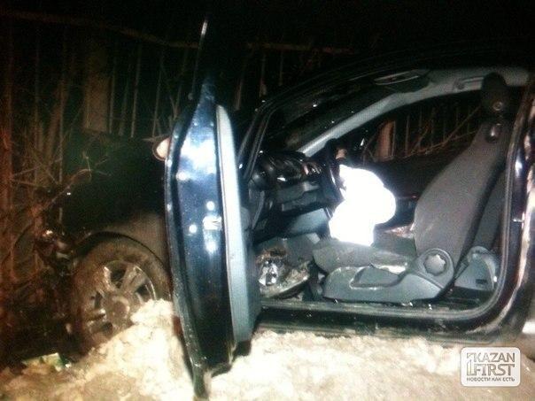 Пьяная женщина в Казани устроила аварию: есть пострадавшие