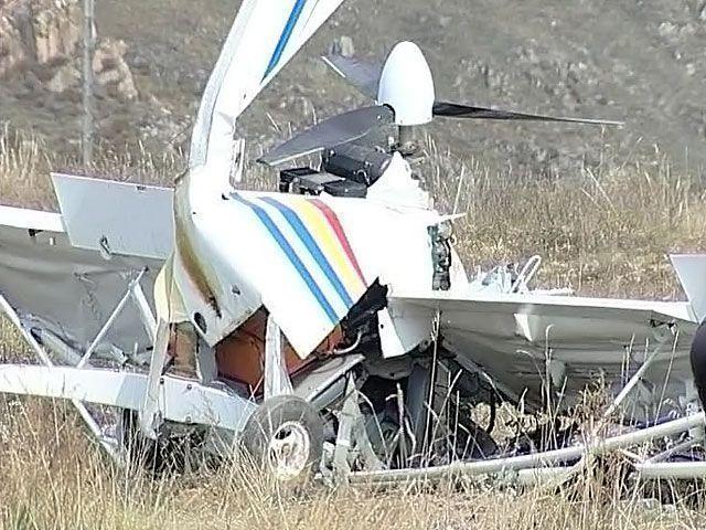 В Удмуртии жёстко приземлился частный легкомоторный самолет
