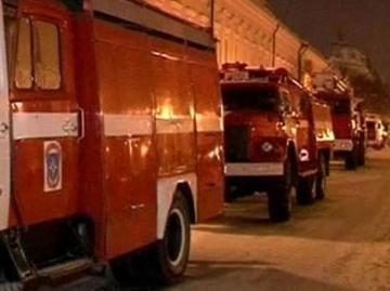 В Казани произошел крупный пожар