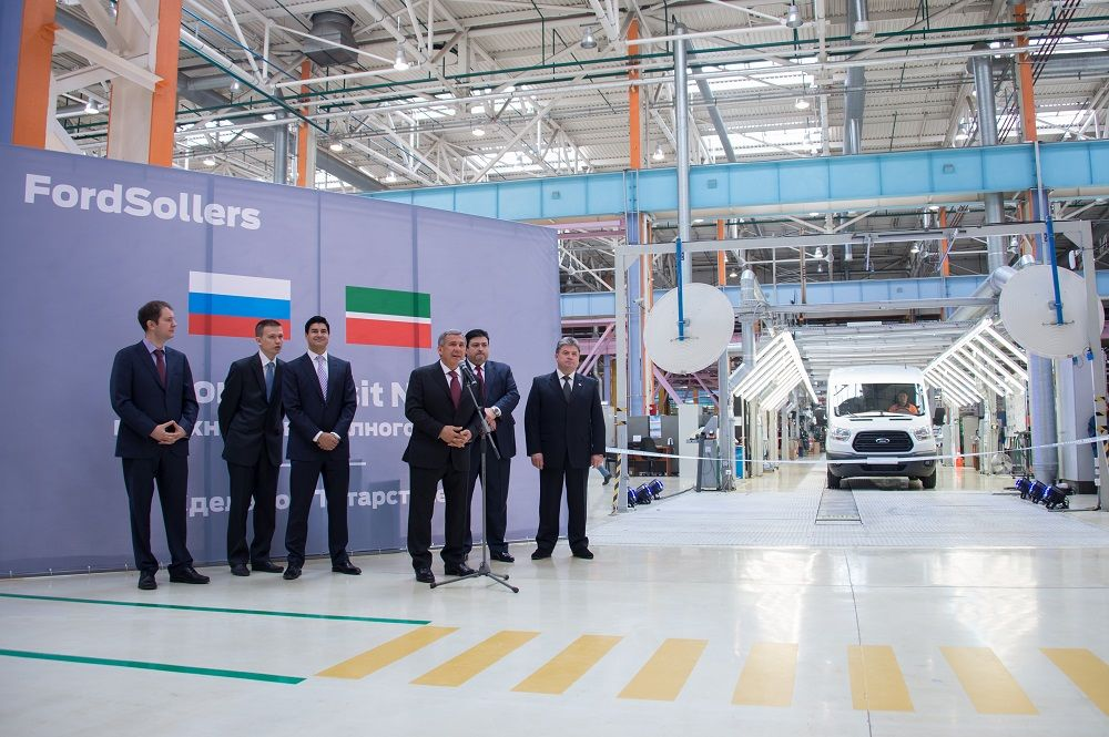 В Татарстане началось производство микроавтобусов с системой «Эра-Глонасс»