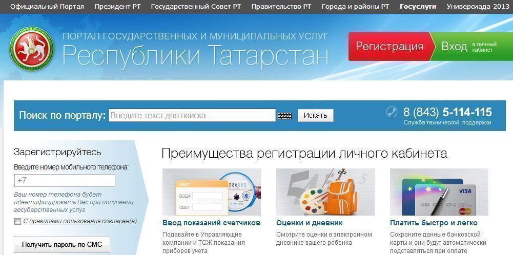 За шесть месяцев 2014 года жителям Татарстана оказано более 14 млн электронных услуг на сумму более 1 млрд рублей