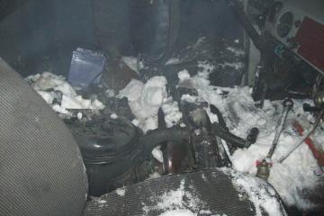 В Набережных Челнах прямо на ходу загорелся автомобиль