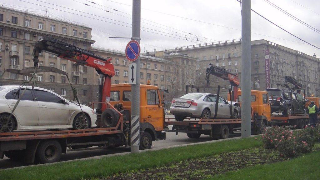 В госдуму рф внесен законопроект об отмене эвакуации за нарушение правил парковки