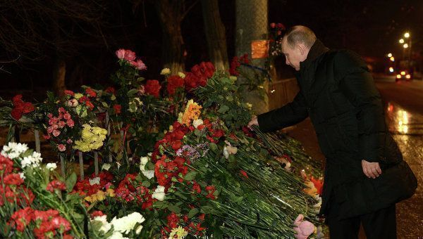 Владимир Путин посетил в больнице пострадавших от взрывов в Волгограде