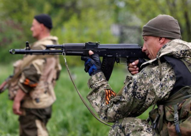 Ополченцы Краматорска уничтожили колонну Нацгвардии Украины