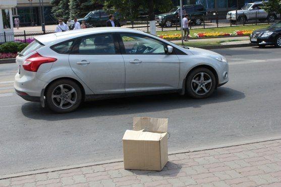 Полицейские оцепили центр Альметьевска из-за подозрительной коробки
