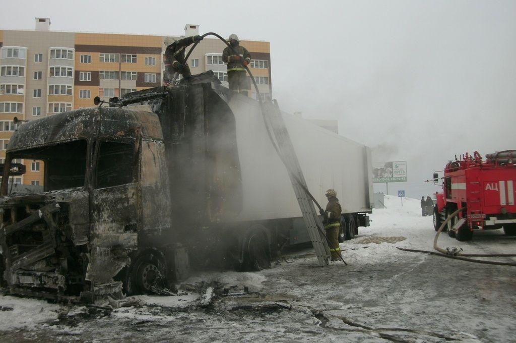 В Зеленодольске за день произошло три пожара