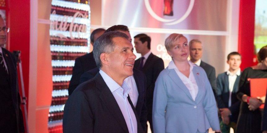 Рустам Минниханов посетил Coca-Cola парк в Казани