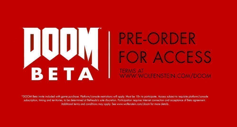 Игроки, сделавшие предзаказ Wolfenstein: The New Order, смогут получить доступ к бета-версии Doom 4