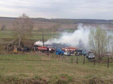В Зеленодольском районе из-за неправильно установленного оборудования сгорел дом
