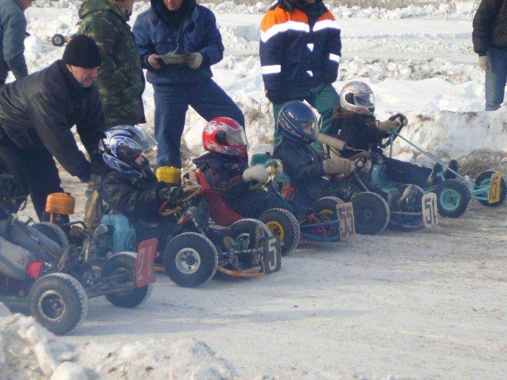 Школьники из Елабуги победили на состязаниях по картингу
