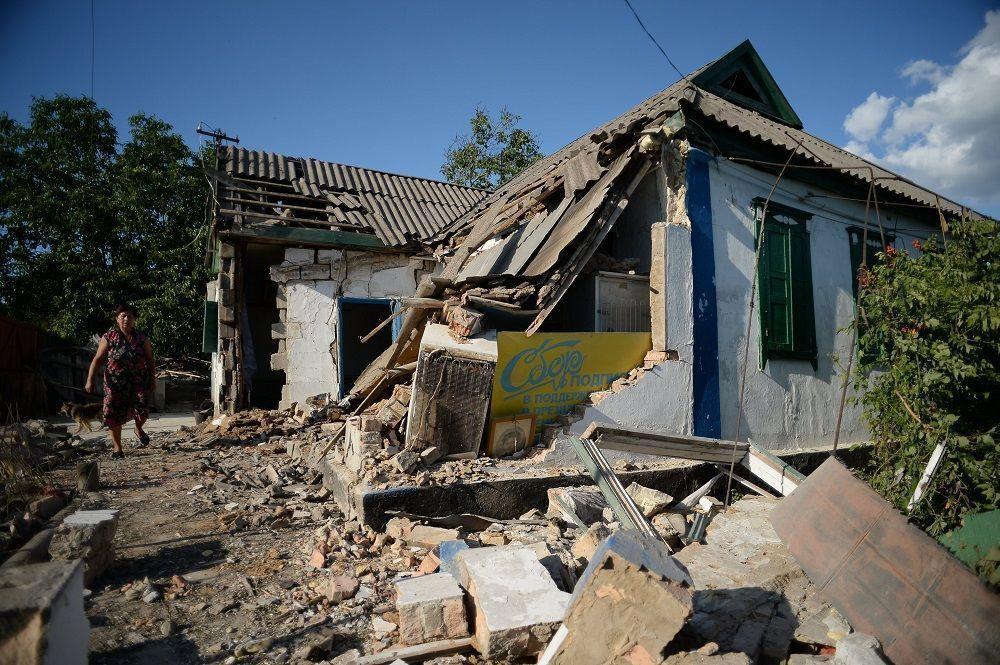Власти ДНР призвали жителей пострадавших от обстрелов домов обратиться в Европейский суд