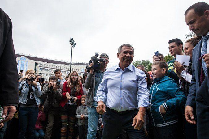 Рустам Минниханов попросил ректоров вузов и студентов поддержать его флешмоб по нормам ГТО