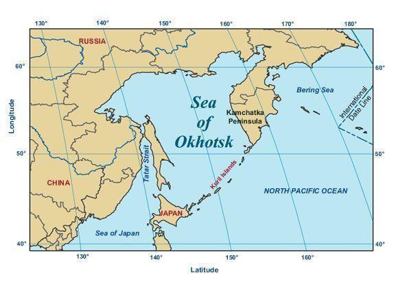 ООН признало Охотское море внутренним морем России