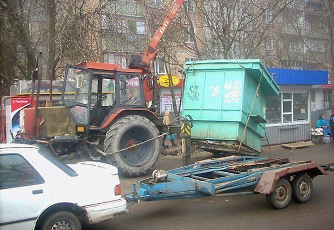 Жители Казани с 24 марта смогу пожаловаться на несанкционированные киоски и автомобильные стоянки