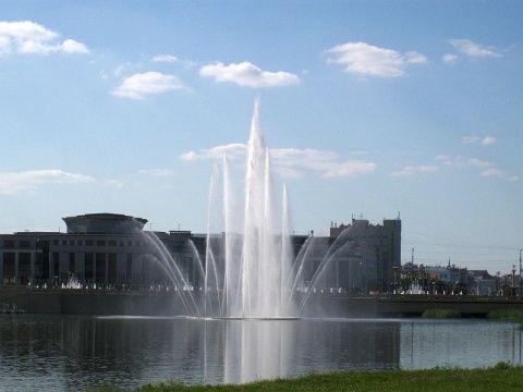 Завтра в Казани заработают 15 фонтанов