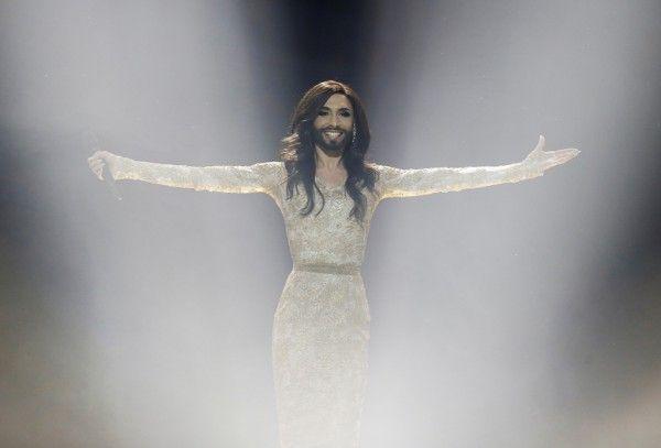 «Евровидение - 2014»: Победительница Кончита Вурст обратилась к Путину