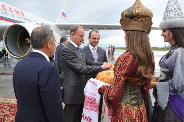 Секретарь Совбеза Николай Патрушев прибыл в Казань