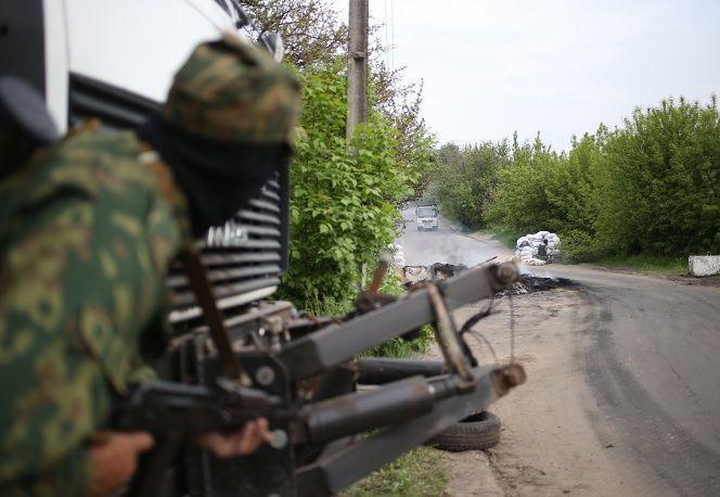 Войска Нацгвардии двинулись к зданию горисполкома в Краматорске, идут бои – ополченцы