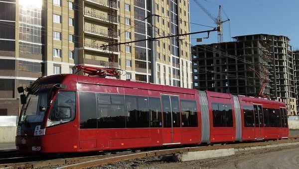 10 новых трамваев вышли в рейс в Казани