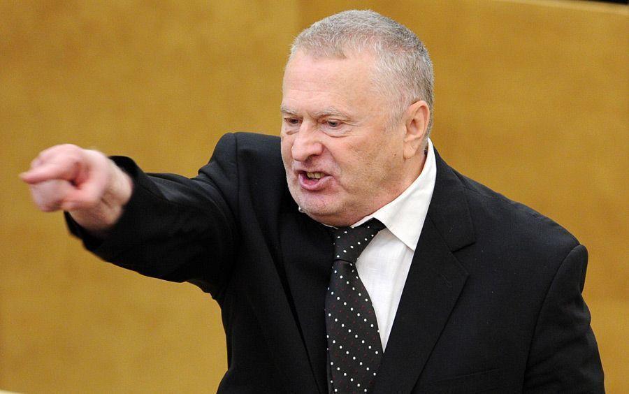 Владимир Жириновский в Госдуме оскорбил беременную журналистку