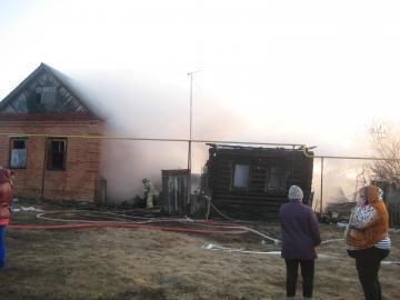 МЧС: в Верхнеуслонском районе неосторожность при курении привела к пожару