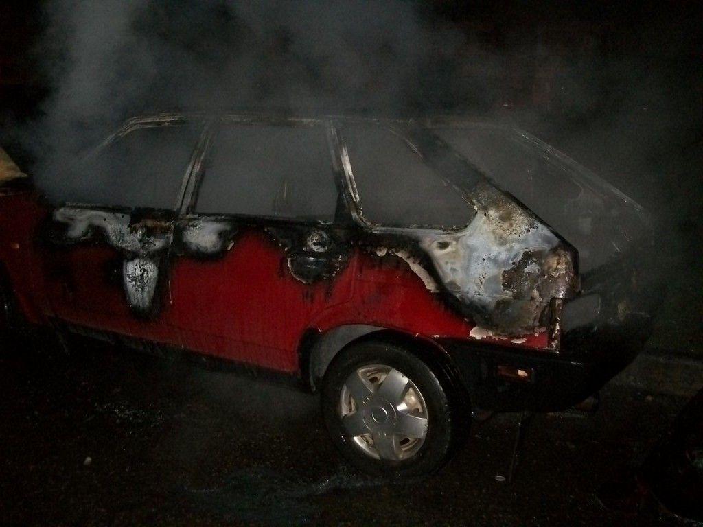 В Казани сгорел очередной автомобиль