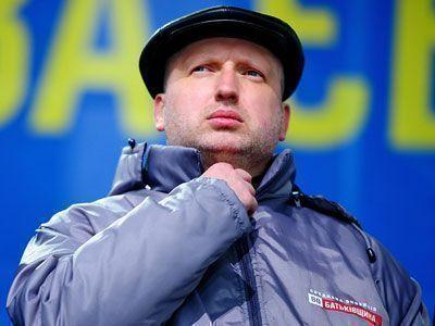 Александр Турчинов принял на себя обязанности Верховного главнокомандующего Украины
