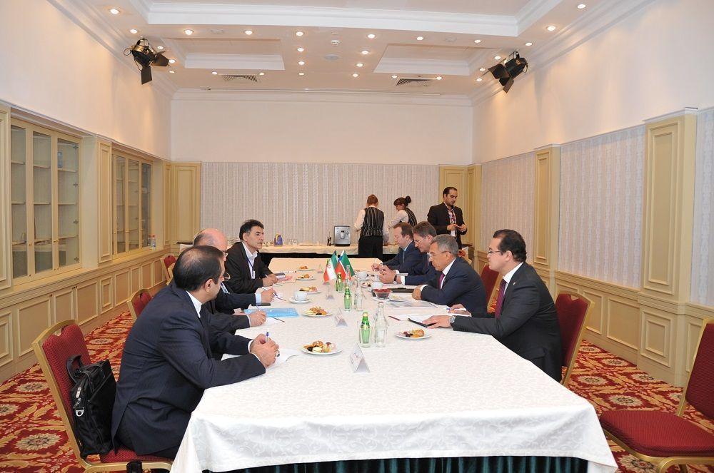Минниханов предложил заместителю секретаря Совета нацбезопасности Ирана сотрудничество в сфере инноваций
