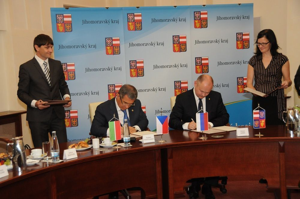 Татарстан и Южноморавский край Чехии подписали соглашение о сотрудничестве