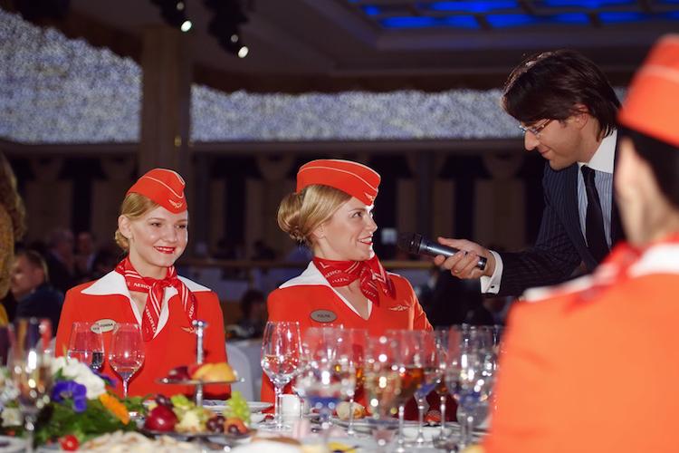 «Аэрофлот» выделит на корпоратив 64 млн рублей