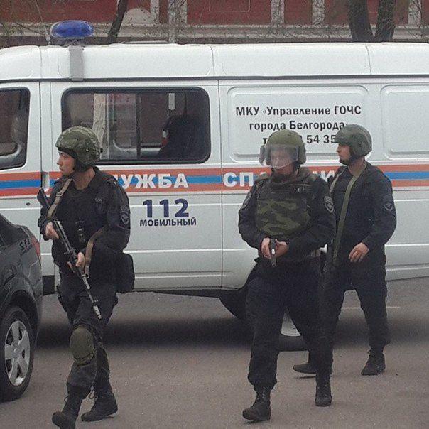 МВД: захвативший заложников в Белгороде мужчина сдал оружие