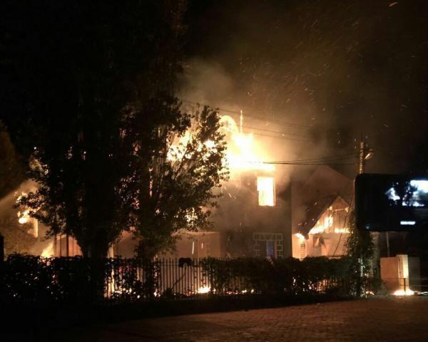 Изгорящего лагеря вАнапе эвакуировали 50 детей