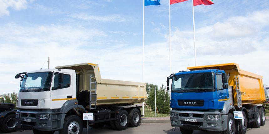 На русском автомобильном рынке продажи грузовых машин растут четвертый месяц подряд