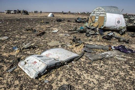ВКаирском аэропорту русские специалисты осмотрели обломки самолёта А321