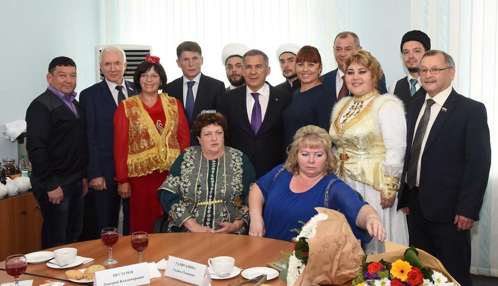 Рустам Минниханов пригласил молодежь Сахалина поступать в университеты Татарстана