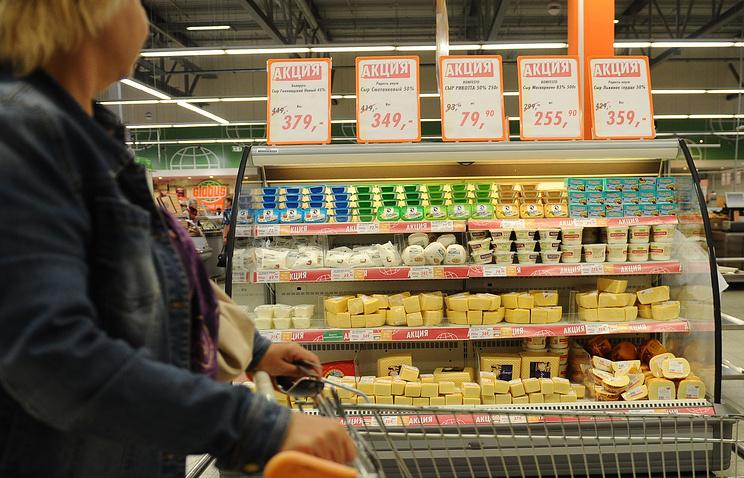 Роспотребнадзор: санкции неоказали значимого воздействия наассортимент продуктов вРФ