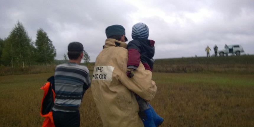 ВТетюшском районе отыскали влесу 3-х летнего ребенка