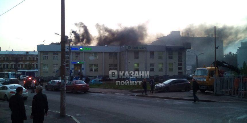 Предпосылкой возгорания магазина спорттоваров стало короткое замыкание— МЧС Татарстана
