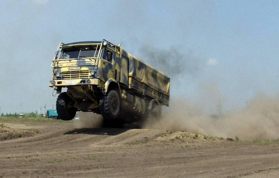 «Камаз» создаст новые грузовые автомобили для десантников