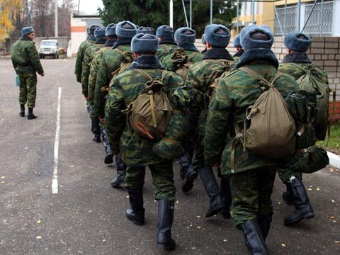 В РФ с1октября стартует призыв вармию