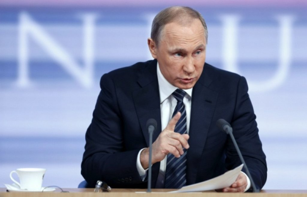 Путин: «Против Российской Федерации никто уже невыступит»