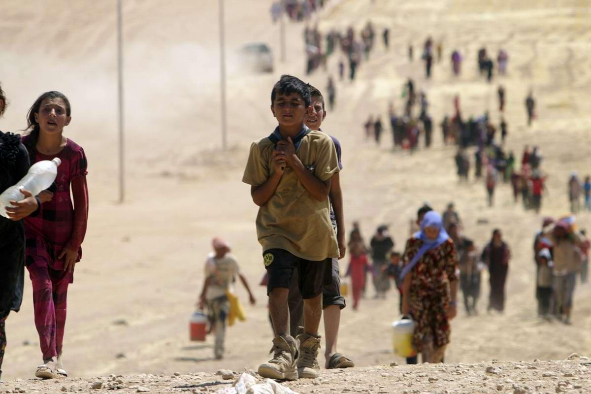 UNICEF: практически 50 млн детей покинули свои дома
