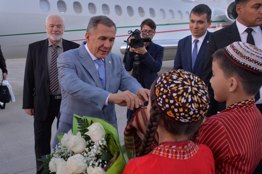 Руководителя Туркменистана иТатарстана считают нужным открытие рейса Казань— Ашхабад